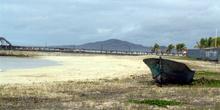 Paisaje de Puerto Villamil en la Isla Isabela, Ecuador