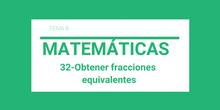32-Obtener fracciones equivalentes