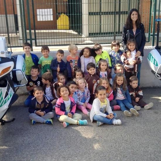 Charlas de la Guardia Civil para Infantil. 2