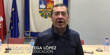 Felicitación Navidad:  Policía, Jesús Juárez, Isidoro Ortega, Rubius, Vicente del Bosque