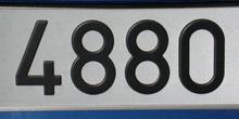 Placa de matrícula