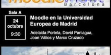 Moodle en la Universidad Europea de Madrid