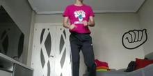 Juego con letras y actividad física