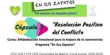 """Resolución positiva del conflicto. Programa """"En sus zapatos"""""""