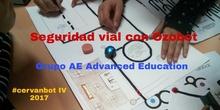 """#cervanbot IV: """"Seguridad vial con Ozobot"""" con Grupo AE Advanced Education (grabaciones realizadas por alumn@s)"""