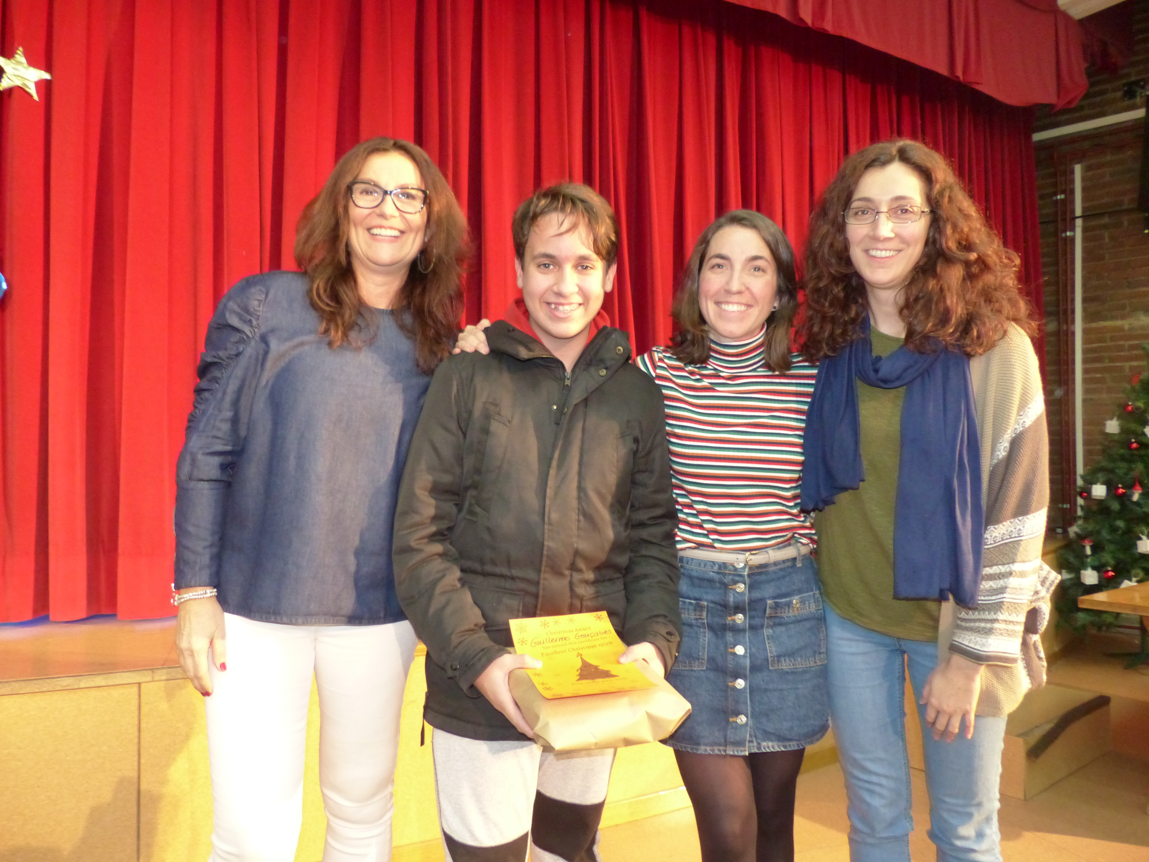 "Premios concurso ""Christmas"" Inglés 4"