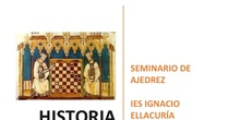 Seminario ajedrez historia del origen del ajedrez