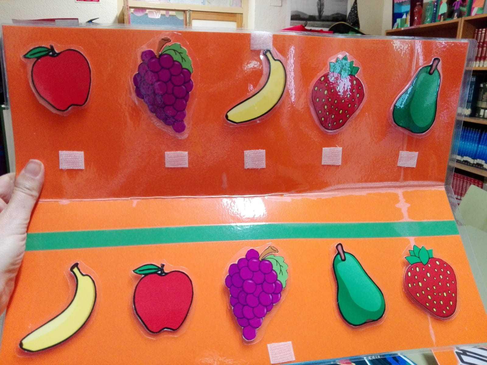 Material manipulativo instrumentos, espacio, frutas... 5