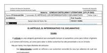 10_1_1º y 2ºESO_Artículos, interrogativos y exclamativos