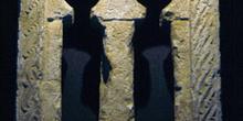 Ventana bífora de la Iglesia de San Martín de Salas, Principado