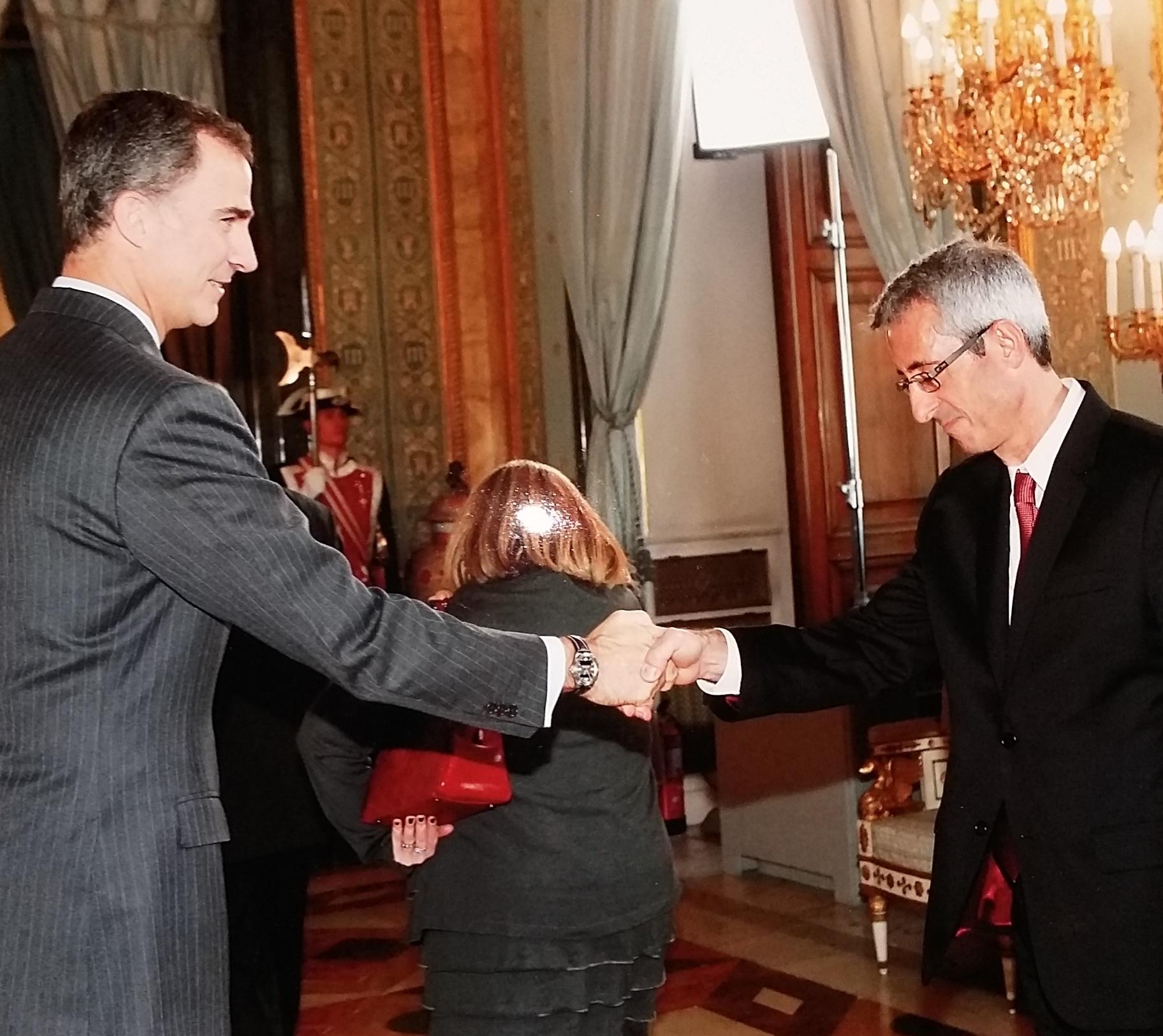 Acto solemne del 30/XI/2015 en el Palacio Real.