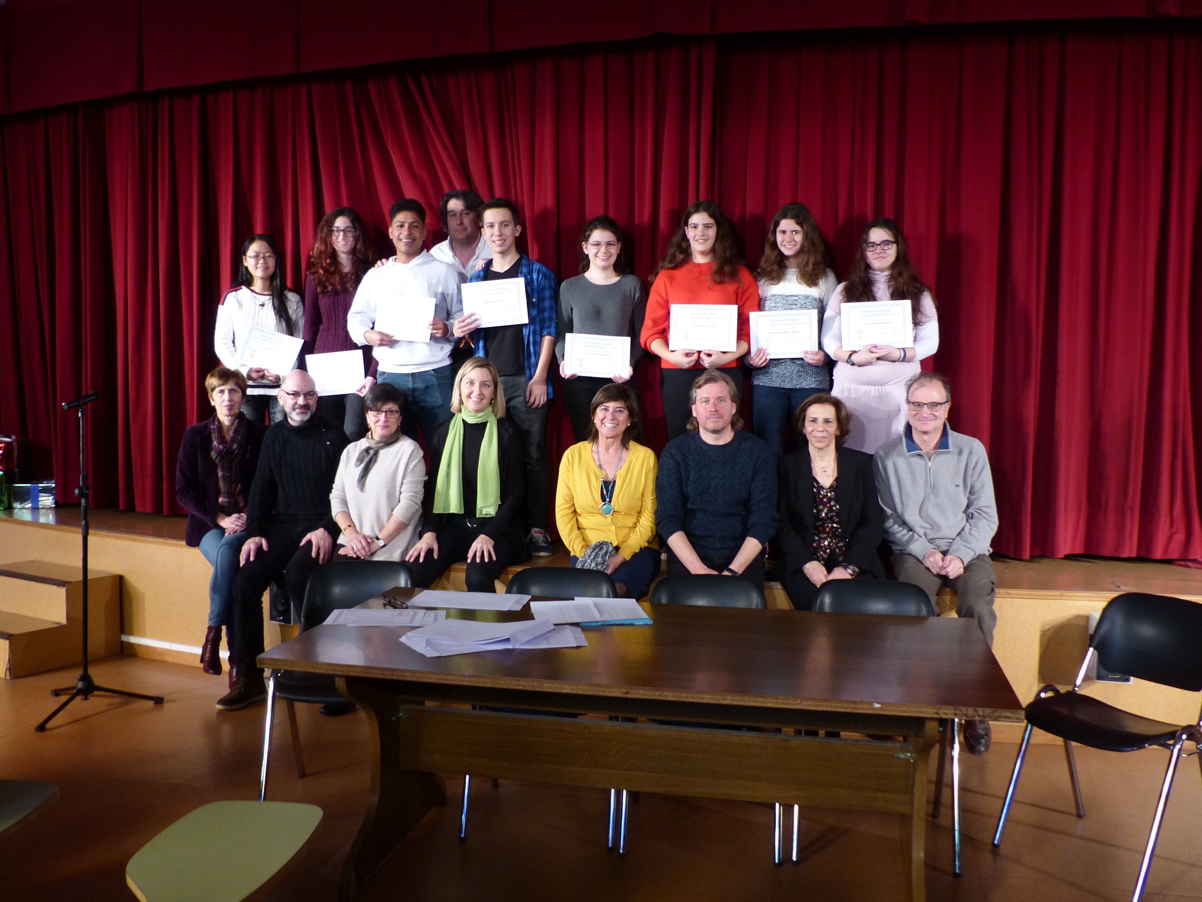 Acto Entrega Diplomas Menciones Honoríficas curso 2017-2018 6