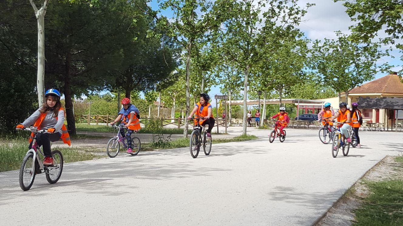 Salida en bicicleta a Polvoranca 15