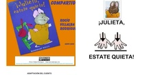 Adaptación con pictos del cuento ¡Julieta, estate quieta!