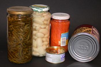 Alimentos envasados