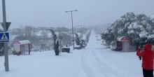 MVLL bajo la nieve...