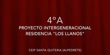 Proyecto Intergeneracional Los Llanos 4ºA