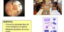 VISU ROCAS CON CLAVES Y MICROSCOPIO 2015