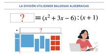Divisón de polinomios con baldosas algebraicas