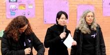8 de marzo en el IES Juan Carlos I. Manifiesto de las profesoras