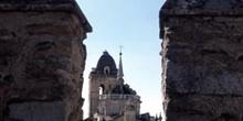 Iglesia de Santa María desde el castillo - Jerez de los Caballer