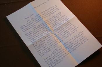 Carta escrita