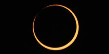 Fase central del eclipse anular 07