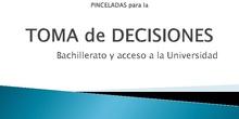 Bachillerato y acceso a la Universidad