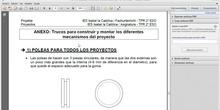2º ESO / Proyecto de electricidad y mecanismos - 3 - Montaje de los mecanismos
