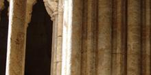 Columnas de ventanales góticos, Ciudad Rodrigo, Salamanca, Casti