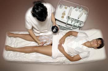 Exfoliación mecánica: aplicación cosmético exfoliante