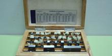 Galgas de calibración para instrumentos de medida de longitudes.