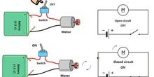 Simple motor circuit