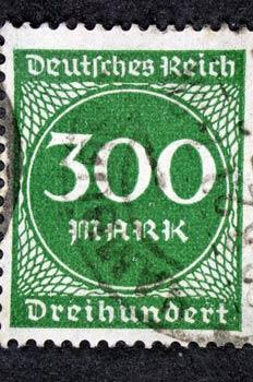 Sello del Tercer Reich alemán
