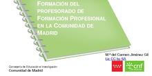 Formación del Profesorado de Formación Profesional en la Comunidad de Madrid