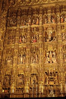 Retablo Mayor, Catedral de Sevilla, Andalucía