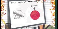PRIMARIA 6º - NOCIONES SOBRE FRACCIONES - MATEMÁTICAS