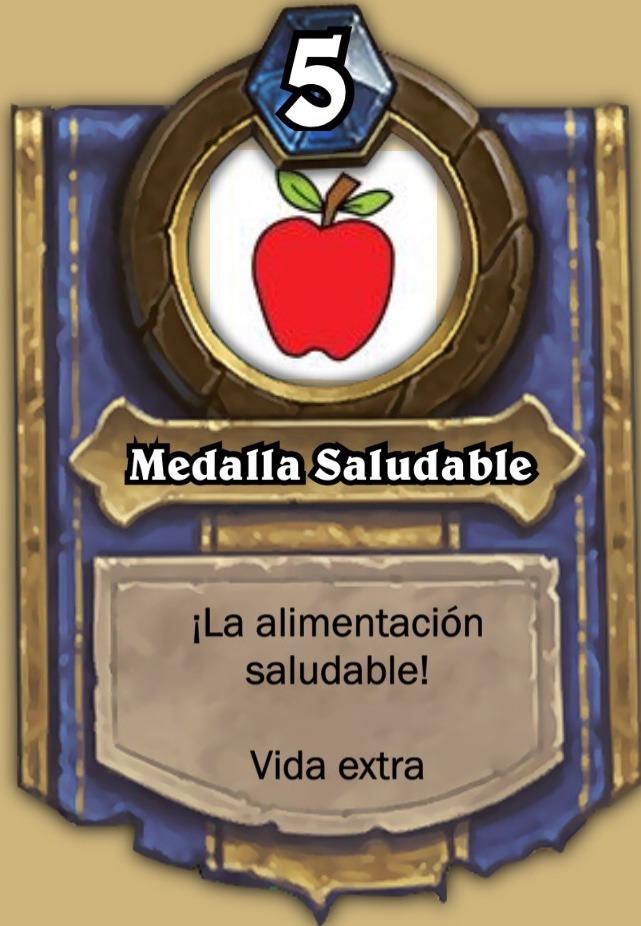 Medalla Saludable