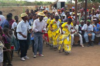 Danza tradicional, Mozambique