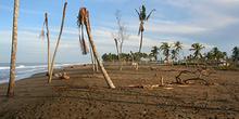 Playa destruida, Melaboh, Sumatra, Indonesia