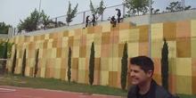 Bomberos en el CPEE Vicente Ferrer