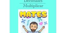 4º Matemáticas Decimales - Multiplicar.