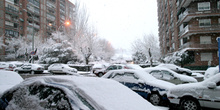 Coches nevados, Madrid