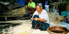 Taller de artesanía, Tailandia