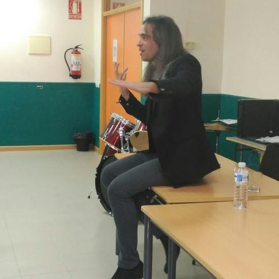 Álvaro Tato - Encuentro con los actores del IES Nicolás Copérnico 2