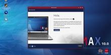 MAX 10.0 - Descripción instalación desde pantalla de Bienvenida