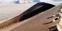 Ladera de duna, Namibia