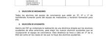 PROTOCOLO DE SELECCIÓN DE ALUMNOS DEL EQUIPO DE CONVIVENCIA.pdf: PROTOCOLO DE SELECCIÓN DE ALUMNOS DEL EQUIPO DE CONVIVENCIA