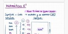 Tema 9: Áreas de figuras planas (Introducción)