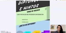 DIPTONGOS E HIATOS INFOGRAFÍA+VÍDEO
